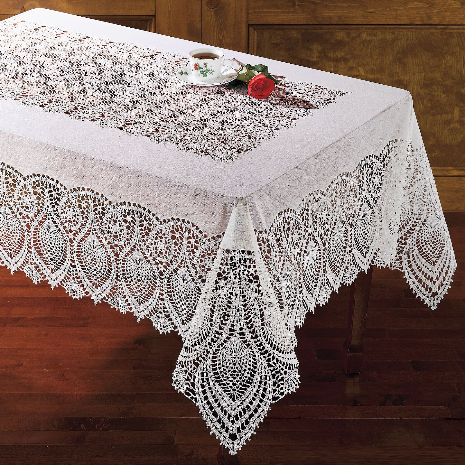 Dr House Cleaning: How to Clean a Lace Tablecloth