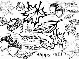 Fall Pumpkin Coloring Printables