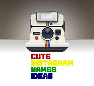 Cute Instagram Names Ideas