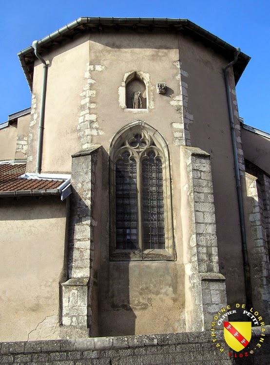 BULLIGNY (54) - Église de la Nativité-de-la-Vierge (Extérieur)