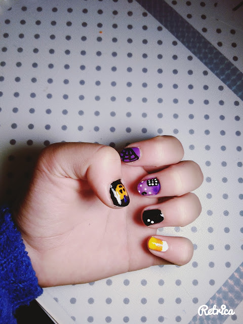 #HALLOWEEN PARTY - NAILS