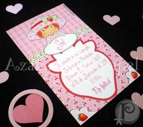 Participaciones, tarjetas y souveniers: Cumpleaños Infantil