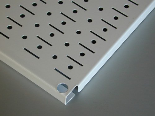 peg board edge