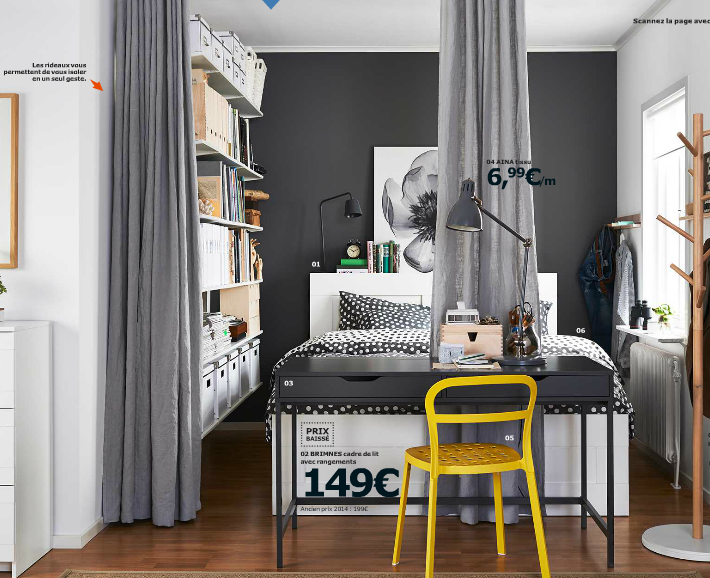 catalogue ikea 2015 ce que j 39 ai aim. Black Bedroom Furniture Sets. Home Design Ideas