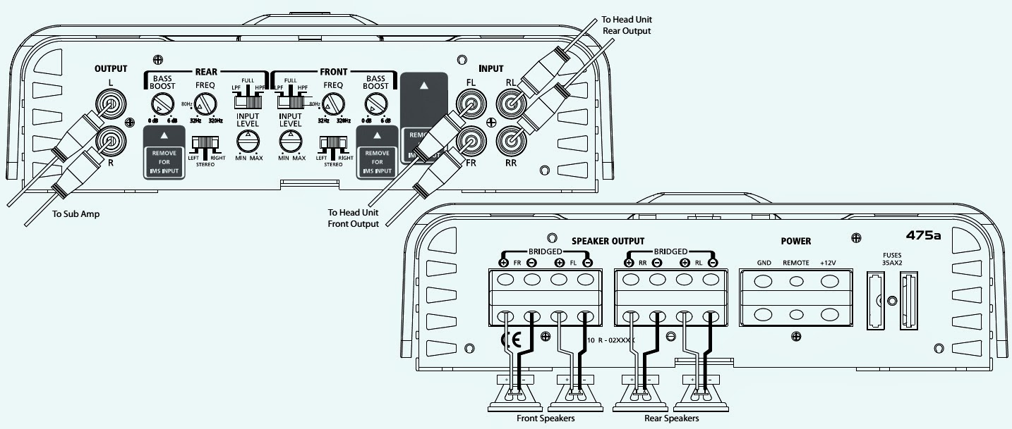 2 Channel Monoblock Amp Wiring Diagram - Trusted Wiring Diagram