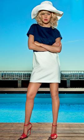 Dolores Promesas primavera verano 2013 colección Resort vestido corto