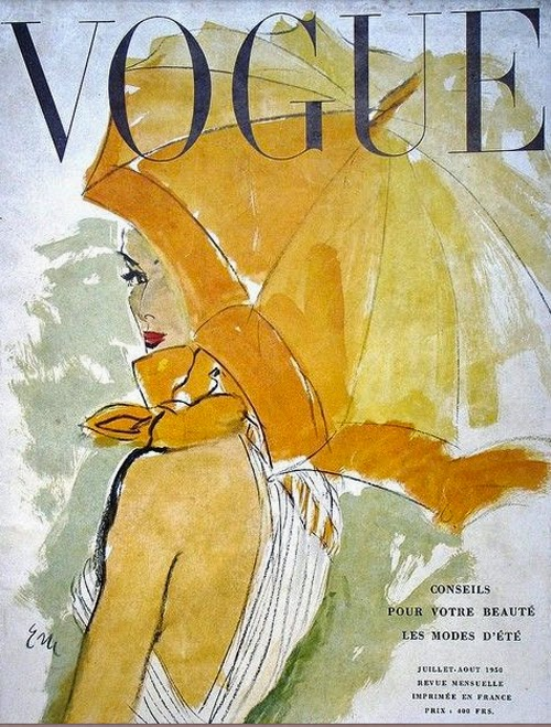 fabulous doodles fashion illustration blog by brooke hagel  vintage vogue illustrated covers