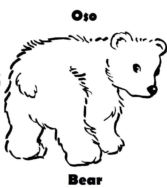 Dorable Letra B Bear Para Colorear Ideas - Dibujos Para Colorear En ...