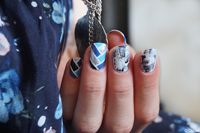Braided & Destroyed nails by Chloke