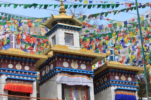 Дармсала. Вокруг дворца Далай ламы