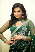 Ragini Dwivedi Glamorous photos in Green Saree-thumbnail-3