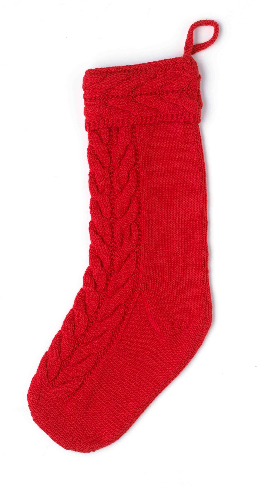 Cable Knit Christmas Stocking Pattern : Cable Knit Christmas Stocking Pattern Car Interior Design