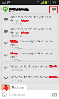 Cara Video Call Google Hangouts Di HP Android