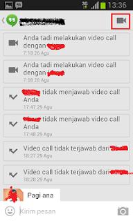 Cara Video Call Google Hangouts Di HP Android