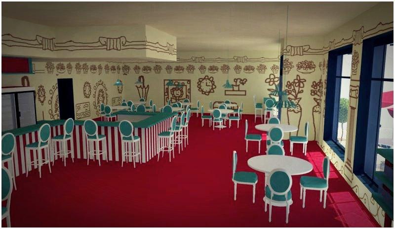 Dise o de interiores escuela de arte de motril trabajos - Trabajos de decoracion de interiores ...