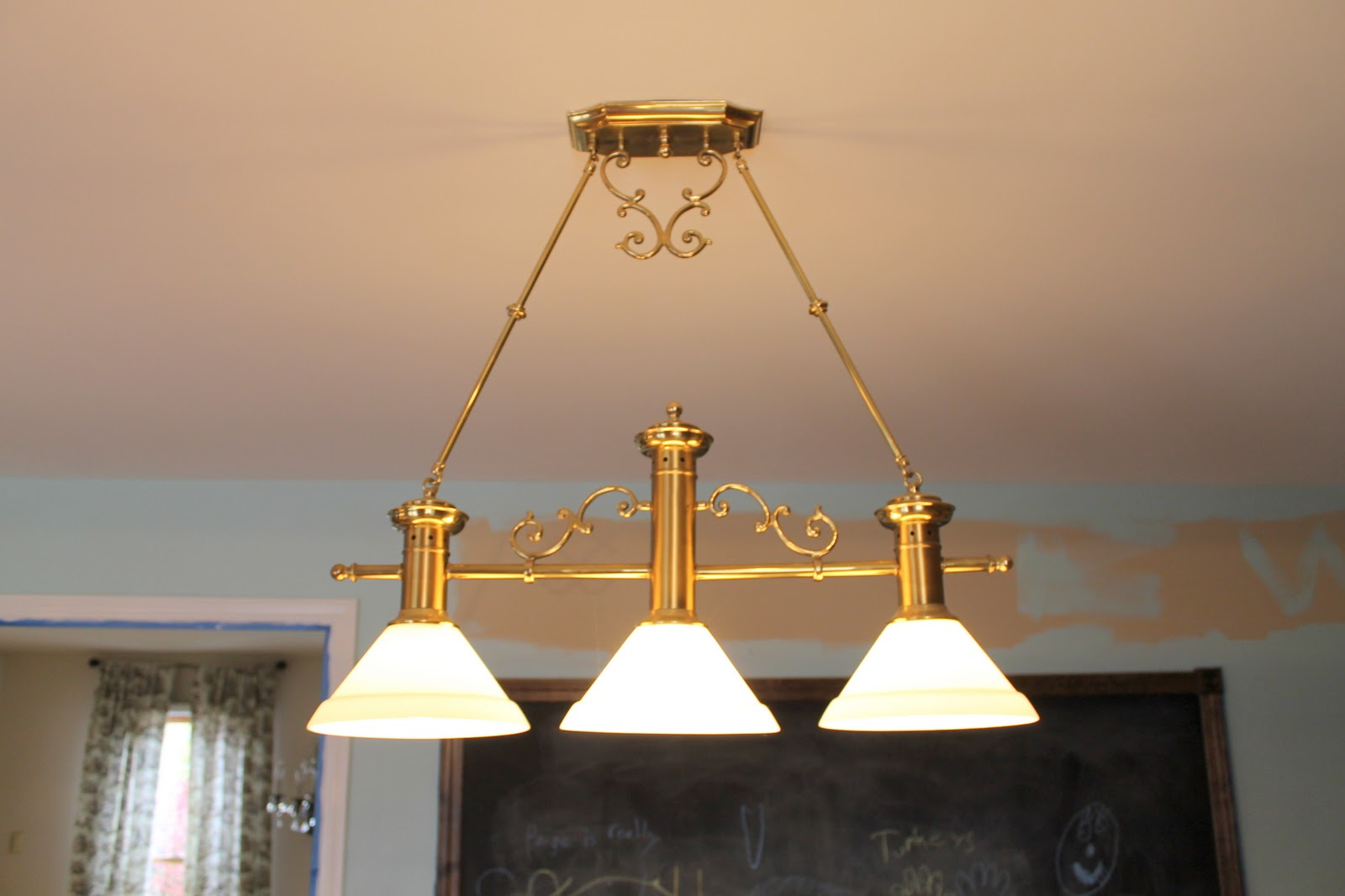 Gold Shoe Girl: New House New Kitchen Lights