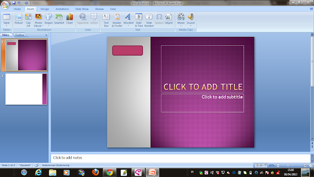 Cara Membuat Presentasi PowerPoint seperti Flash ~ Notehigh
