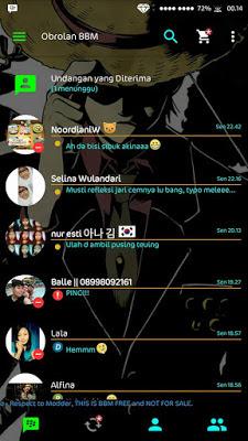 BBM Transparan Versi 2.11.0.16 Plus BBM 2