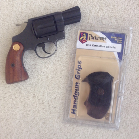 The Next Chapter: New Pachmayr Grips for my Colt Agent Revolver