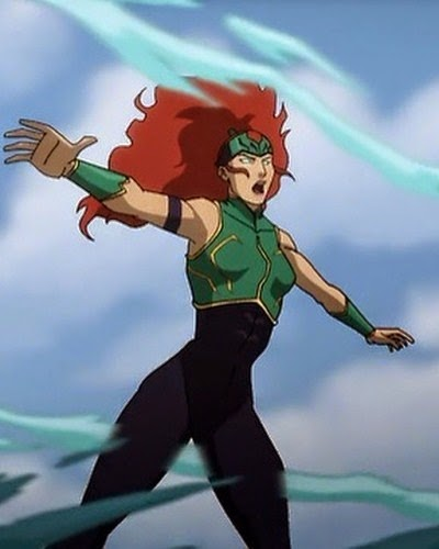 Mera Justice League Throne of Atlantis