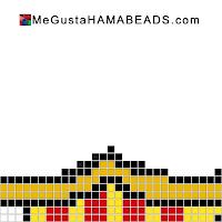 hama beads plantillas Barcelona