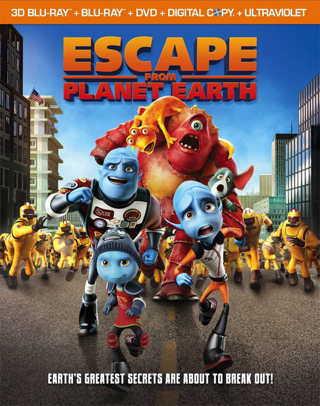 Free Download Poster of movie Escape From Planet Earth(2013) DVD RIP XVID in Dual Audio Hindi-English.