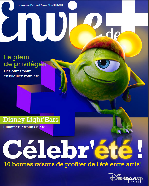 Cover of Envie de + 33, Summer 2013