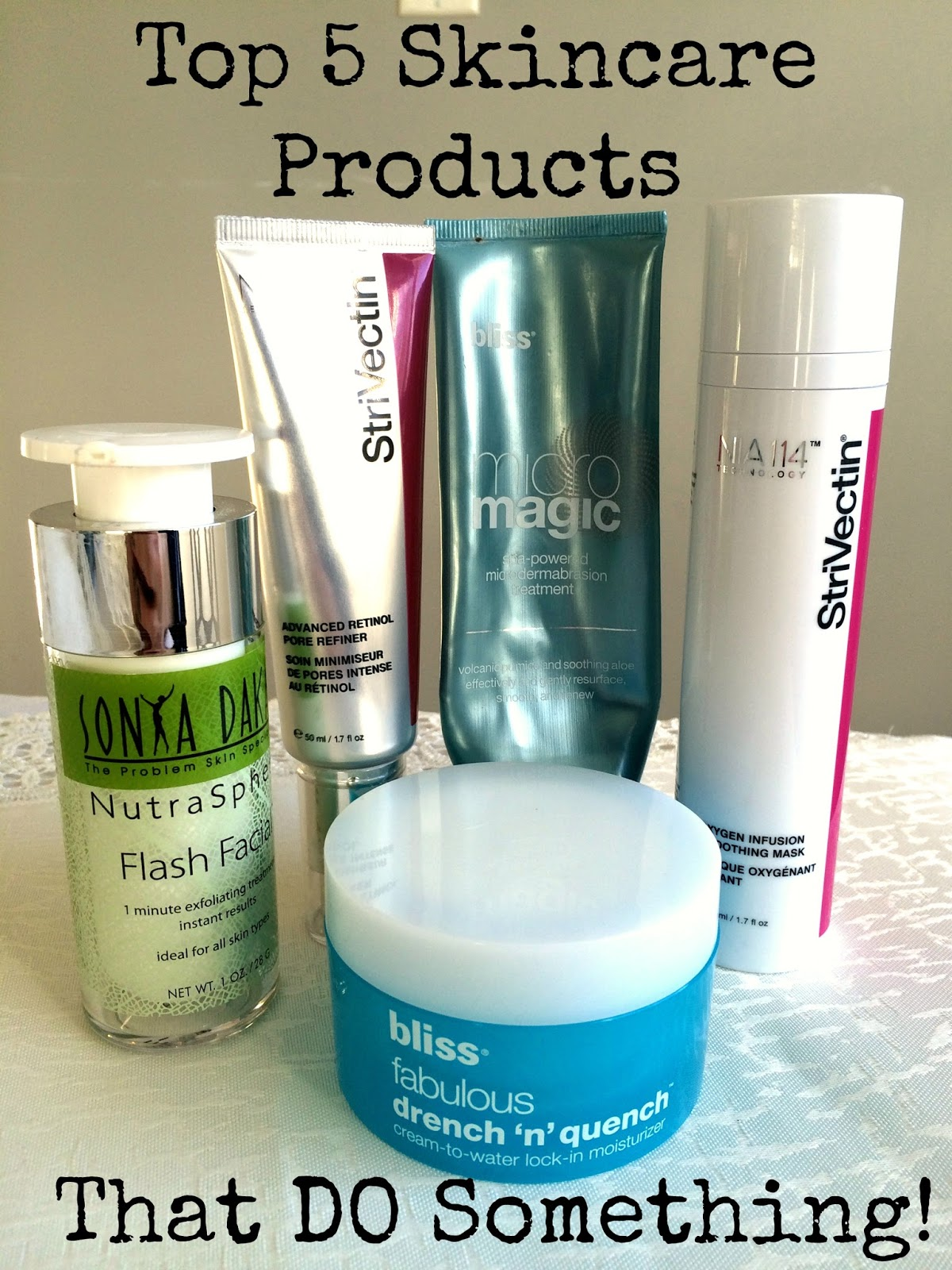 5 Skincare Products That DO Something | all dressed up with nothing to drink...