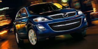 2012 Mazda CX-9 blue