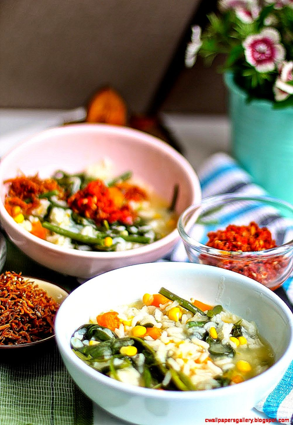 Olivia Cooks in Holland BUBUR MANADO  MANADONESE VEGETABLE PORRIDGE