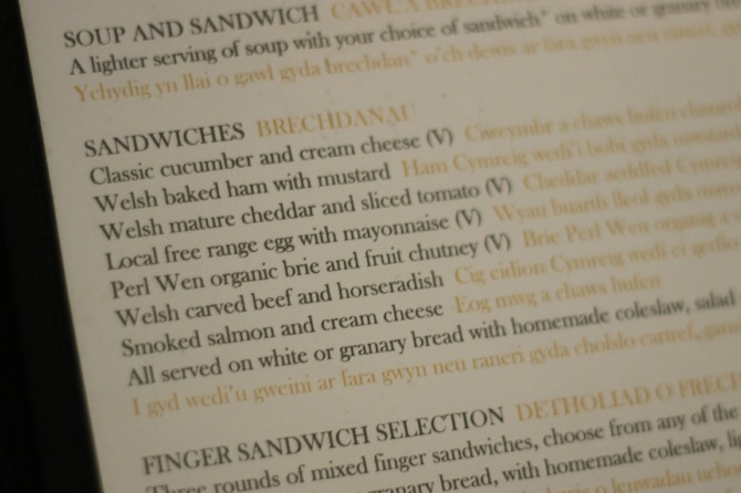 Sandwich selection at Pettigrew