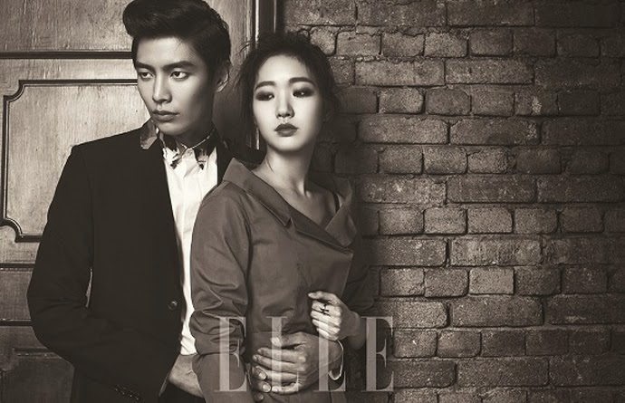 Kim Go Eun Lee Min Ki - Elle Magazine March Issue 2014