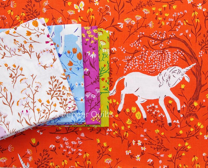 Far Far Away - Unicorns by Heather Ross