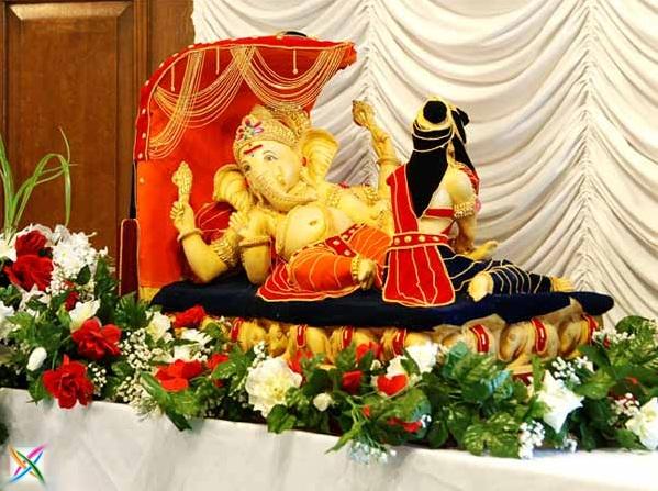 Ganesh Chaturthi Ganapati Aarti lord Ganesha Wallpaper Mantra Festival Wish Vinayaka Chavithi