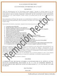 Manifiesto Remoción Rector UAAAN