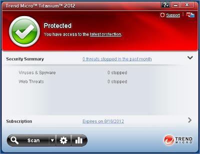 Trend Micro Antivirus 2012