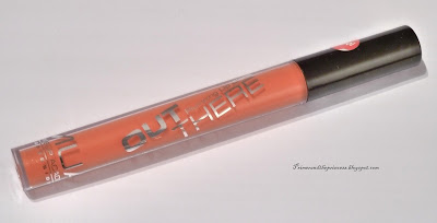 MUA Get Out There Plumping Lip Gloss Review - Sienna