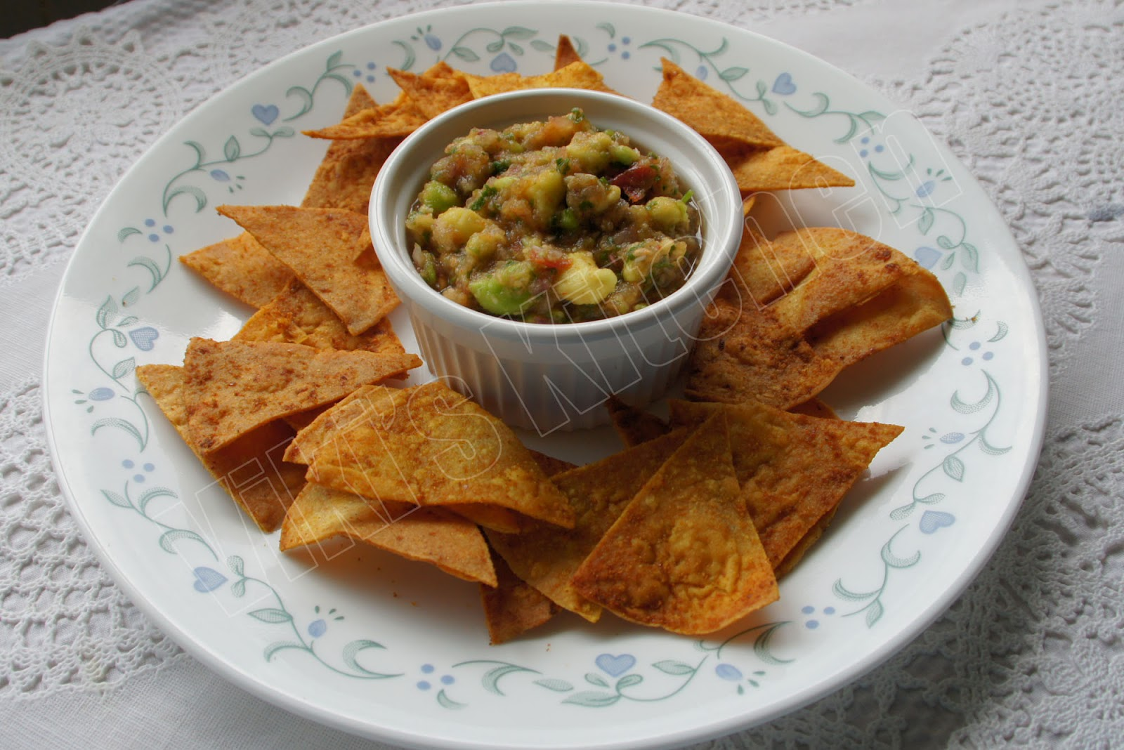 Homemade Baked Tortilla Chips Recipes — Dishmaps