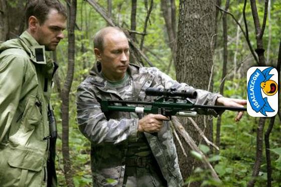 HUMOR: Putini Nuk Ka Nevoje Te Marre Shenjester. I Mjafton te Ndjeke Gishtin e Tij