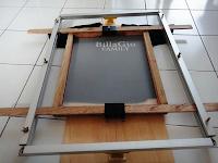 Alat Sablon Kaos Manual - Noken Frame Presisi