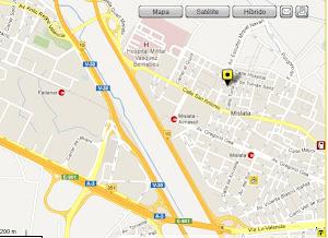 mapa C/Regacho10 Mislata