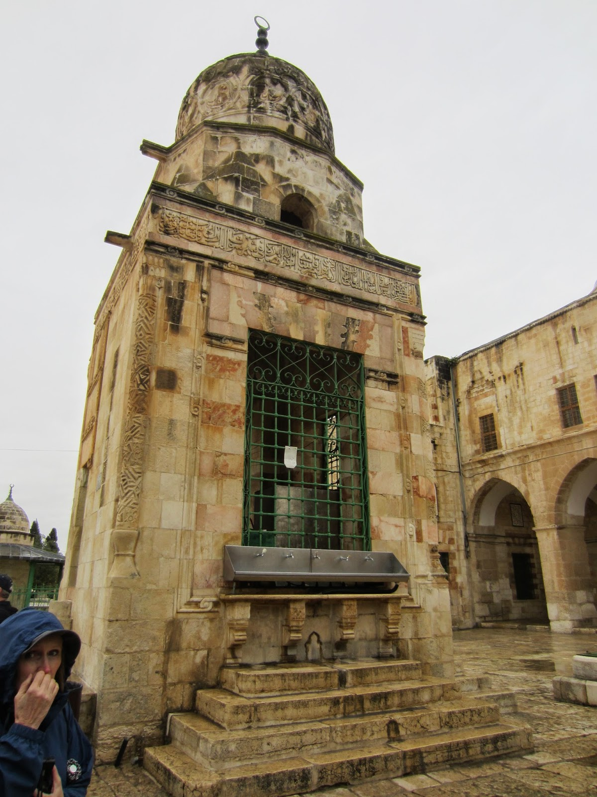 Fountain of Qayt Bay, Temple Mount, Jerusalem / Souvenir Chronicles