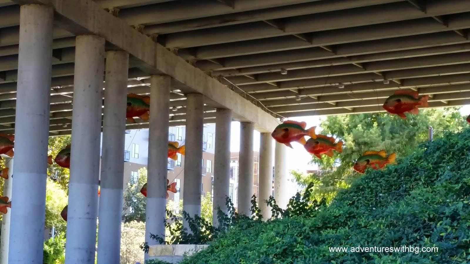 F.I.S.H. under the Interstate 35 bridge