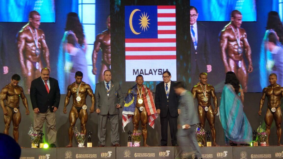 'MALAYSIA BOLEH', MR WORLD untuk ke 10 kali 'SAZALI SAMAD' HADIAH UNTUK MU MALAYSIA