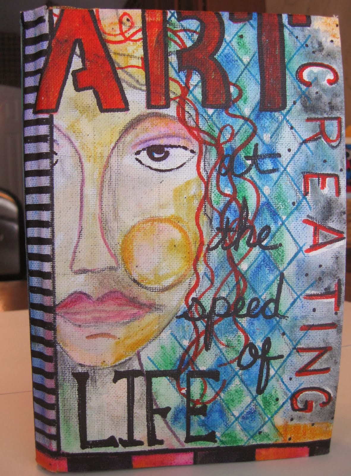 Handmade Art Journal Cover