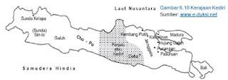 Daerah Kekuasaan Kerajaan Kediri
