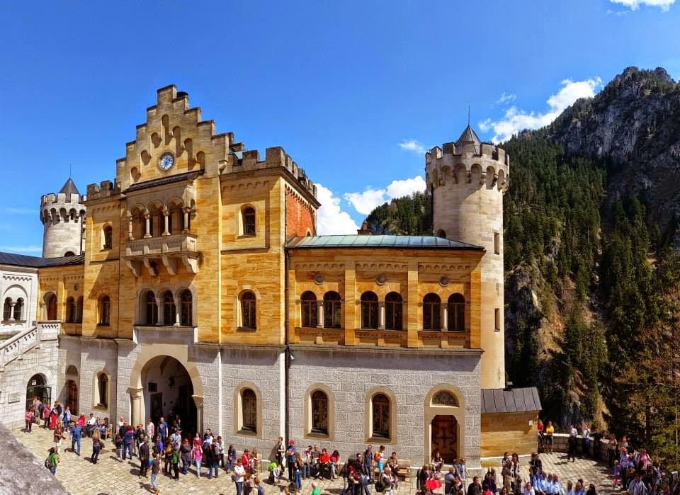 Gatehouse of Neuschwanstein Castle