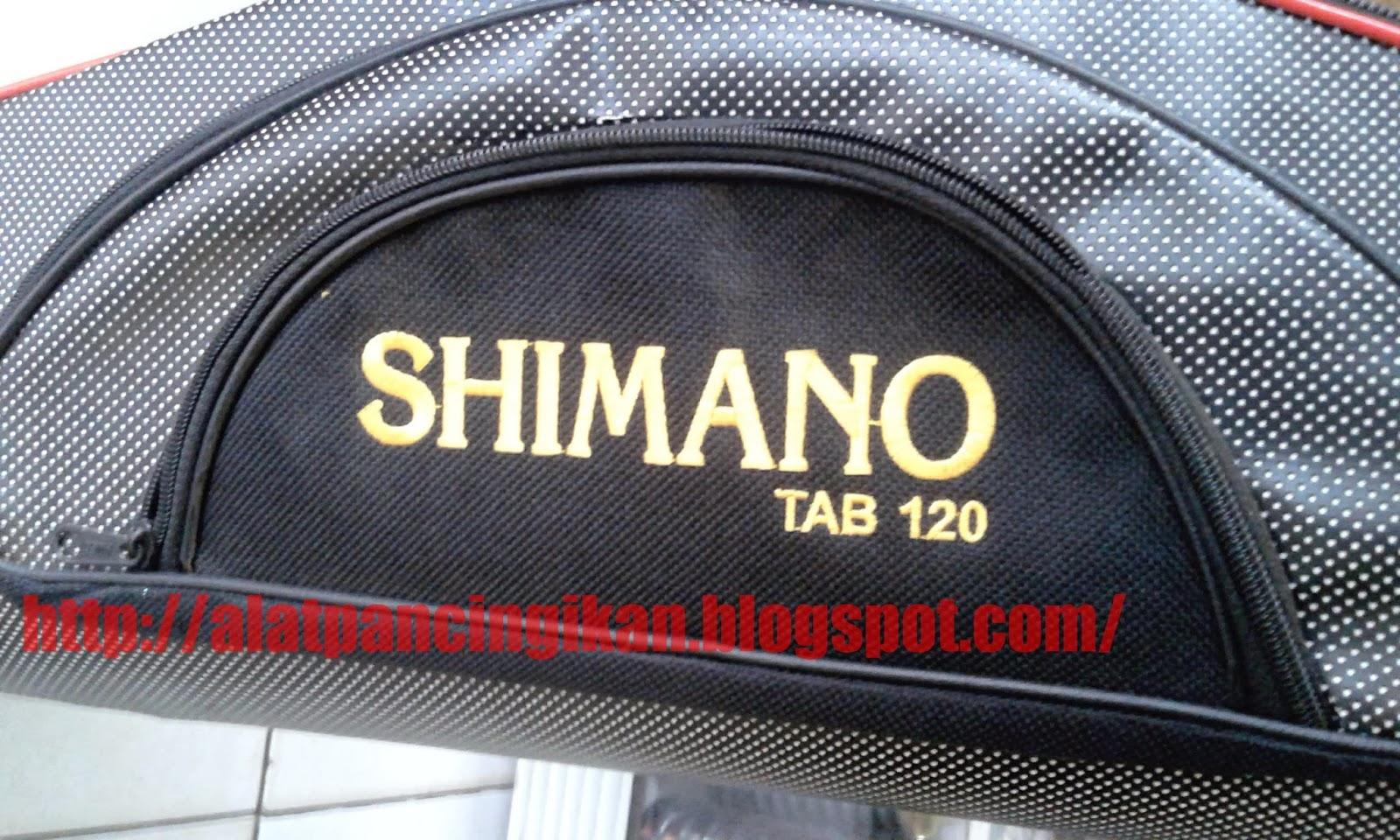 Tas Pancing Merk Shimano Tab 120