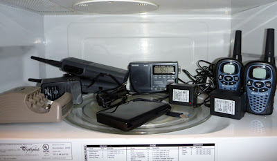 Microwave Faraday Cage 