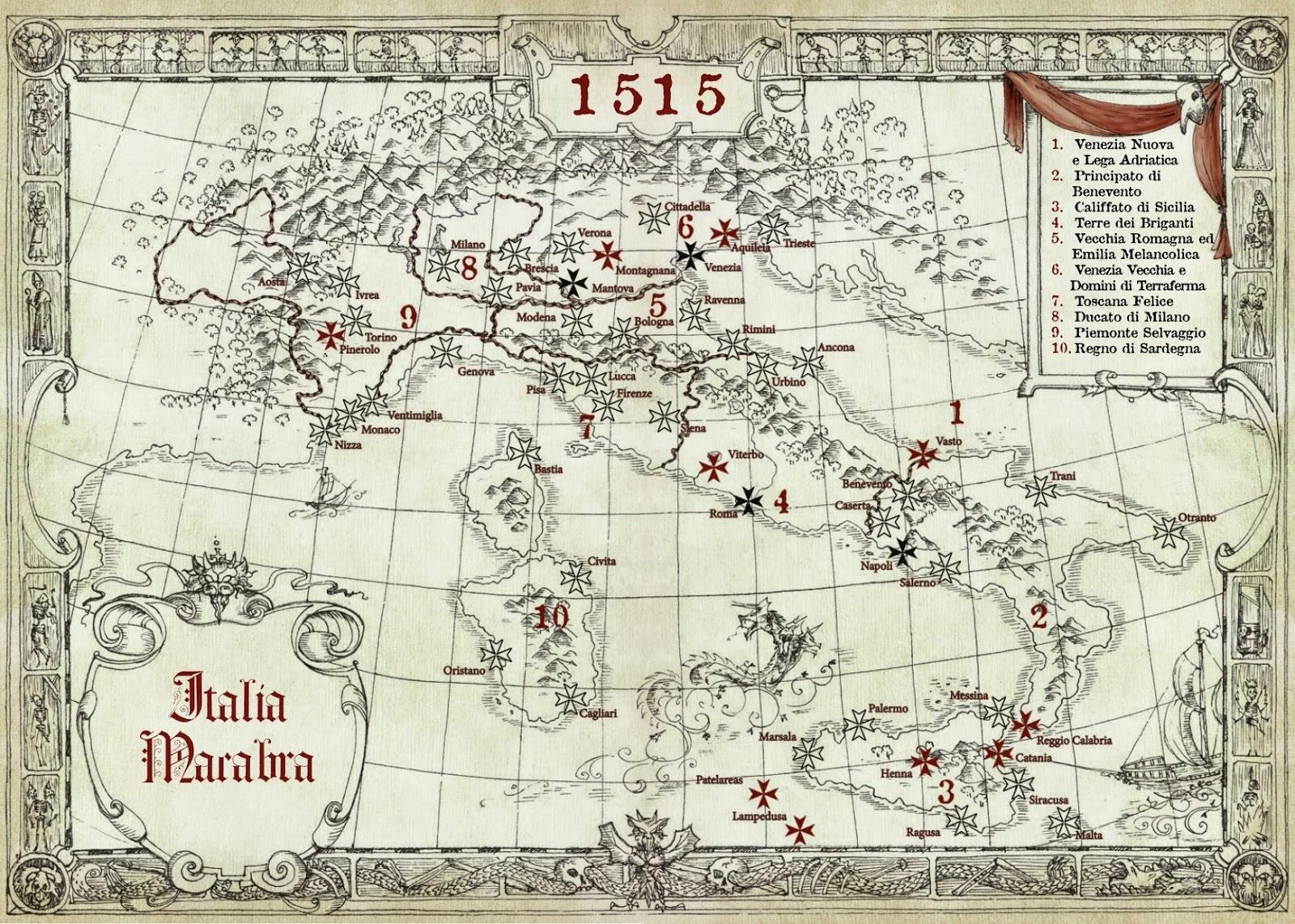 Italia Macabra (mappa)